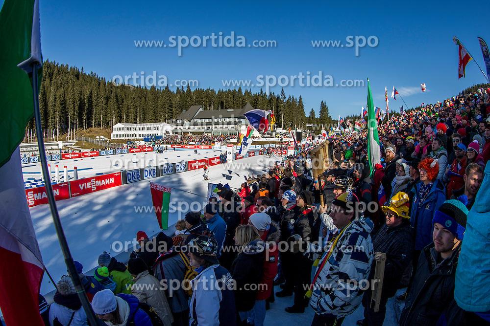 Supporters during Men 12,5 km Pursuit at day 3 of IBU Biathlon World Cup 2015/16 Pokljuka, on December 19, 2015 in Rudno polje, Pokljuka, Slovenia. Photo by Urban Urbanc / Sportida