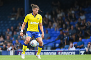 Leeds United Midfielder Kalvin Phillips (23) during the Pre-Season Friendly match between Southend United and Leeds United at Roots Hall, Southend, England on 22 July 2018. Picture by Stephen Wright.