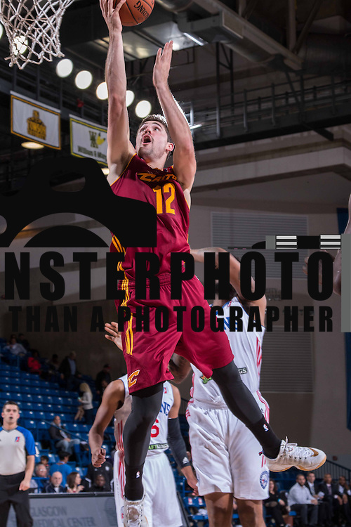 Canton Charge Guard JOE HARRIS (12) drives to the basket during the third period of a NBA D-league regular season basketball game between the Delaware 87ers (76ers) and the Canton Charge (Cleveland Cavaliers) Tuesday, Nov. 17, 2015, at The Bob Carpenter Sports Convocation Center in Newark, DEL