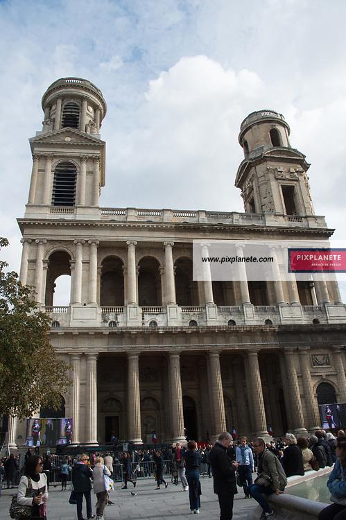 Obsèques de Jacques Chirac Lundi 30 Septembre 2019 église Saint Sulpice Paris