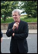 TONY ELLIOT, Matt's Gallery 35th birthday fundraising supper.  42-44 Copperfield Road, London E3 4RR. 12 June 2014.