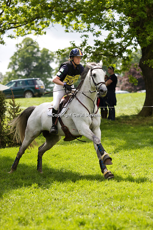 Equi-Trek Bramham International Horse Trials 2012  CIC3*<br /> Virginie Caulier and Nepal du Sudre (BEL)