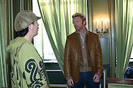Carlos Santana, Boris Becker, Hotel Bayrischer Hof, 09.12.2002.<br /> <br />  - Carlos Santana and Boris Becker -  -  Hotel Bayrischer Hof - Munich - Bayern - Germany  - 9 December 2002. <br /> &copy; Juergen Hasenkopf