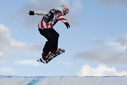 30-10-2010 SNOWBOARDEN: BIG AIR SNOWBOARD WORLDCUP: BATTERSEA LONDON<br /> Pim STIGTER NED takes to the air during the qualification round prior<br /> **NETHERLANDS ONLY**<br /> ©2011-WWW.FOTOHOOGENDOORN.NL/NPH-M. Gunn