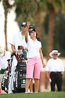 Apr. 1, 2006; Rancho Mirage, CA, USA; Lorena Ochoa checks the wind during the 3rd round of the Kraft Nabisco Championship at Mission Hills Country Club. ..Mandatory Photo Credit: Darrell Miho.Copyright © 2006 Darrell Miho .