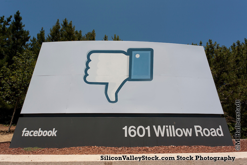 Facebook HQ, 1601 Willow Road, Menlo Park, Silicon Valley, California