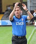 Phil Parkinson Manager of Bradford City during the Sky Bet League 1 match at the Coral Windows Stadium, Bradford<br /> Picture by Richard Land/Focus Images Ltd +44 7713 507003<br /> 06/09/2014