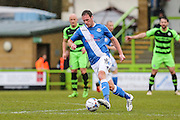 Eastleigh's Andy Drury during the Vanarama National League match between Forest Green Rovers and Eastleigh at the New Lawn, Forest Green, United Kingdom on 20 February 2016. Photo by Shane Healey.