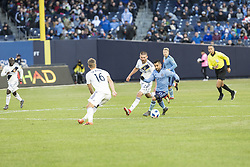 March 11, 2018 - New York, New York, United States - Maximiliano Moralez (10) of NYC FC controls ball during regular MLS game against LA Galaxy at Yankee stadium NYC FC won 2 - 1 (Credit Image: © Lev Radin/Pacific Press via ZUMA Wire)