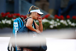May 4, 2019 - Madrid, MADRID, SPAIN - Sofia Kenin (USA) during the Mutua Madrid Open 2019 (ATP Masters 1000 and WTA Premier) tenis tournament at Caja Magica in Madrid, Spain, on May 04, 2019. (Credit Image: © AFP7 via ZUMA Wire)