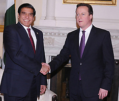 FEB 12 2013 Raja Pervez Ashraf  with David Cameron