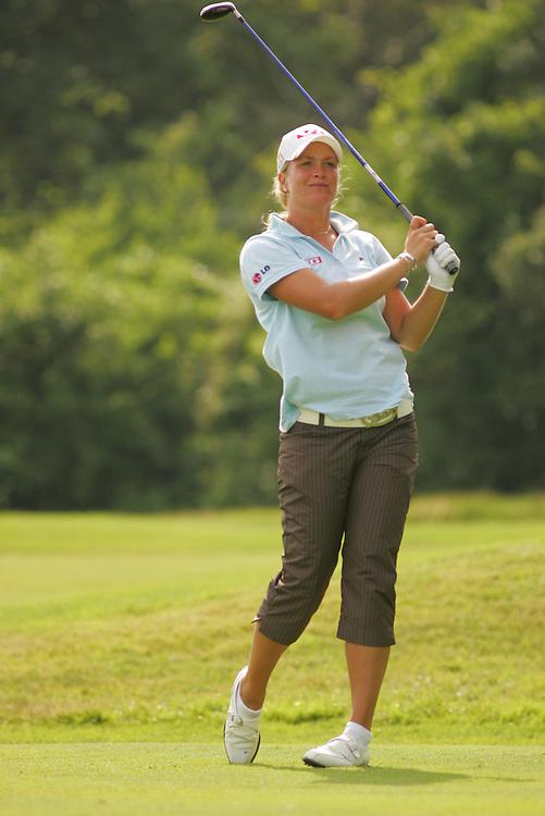 Suzanne Pettersen.2006 US Women's Open Championship.Second Round.Newport Country Club.Newport, Rhode Island.Saturday, July 1 2006.07-01-06.Photograph by Darren Carroll. .
