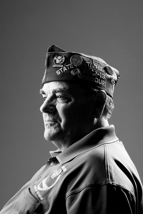 Gerald Boyer<br /> Army<br /> E-5<br /> Infantry<br /> 1963 - 1968<br /> Vietnam<br /> <br /> Veterans Portrait Project<br /> St. Louis, MO