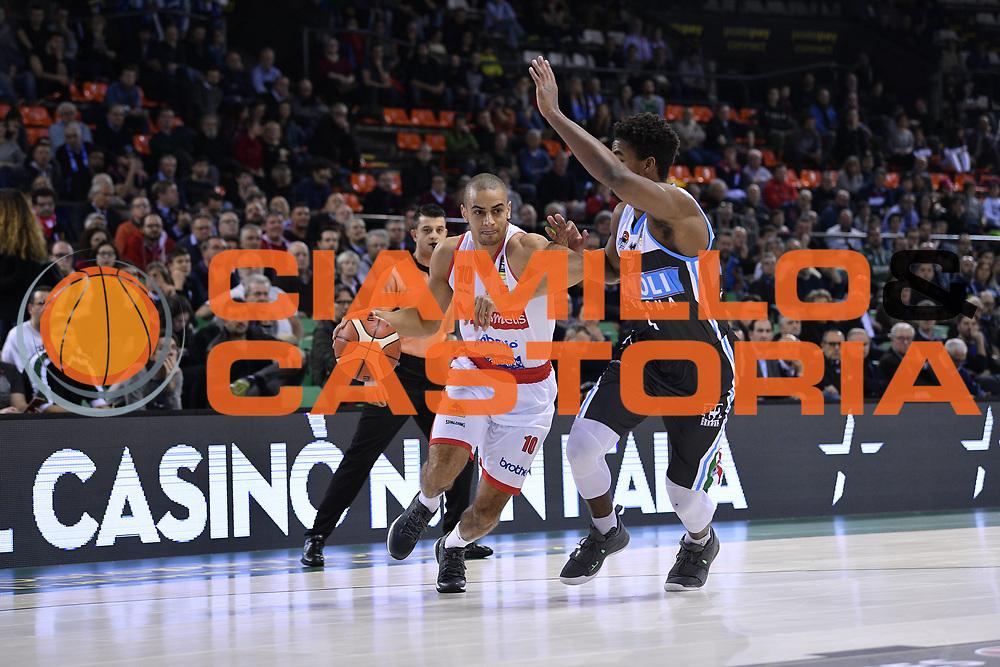 Jean Salumu of Pallacanestro Varese   Palleggio<br /> Openjobmetis Varese - Vanoli Cremona<br /> Postemobile Final Eight 2019 Zurich Connect<br /> Basket Serie A LBA 2018/2019<br /> FIRENZE, ITALY - 14 February 2019<br /> Foto Mattia Ozbot / Ciamillo-Castoria