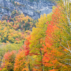 Fall in Grafton Notch State Park, Maine.