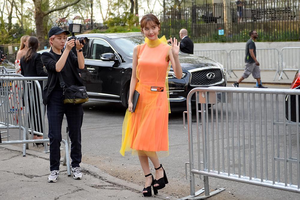 Yoona Lim at Prada Resort 2019