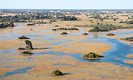 The floodplains of the Okavango Delta, Botswana