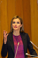 102214 Queen Letizia attends the 25th anniversary celebration of the NTO