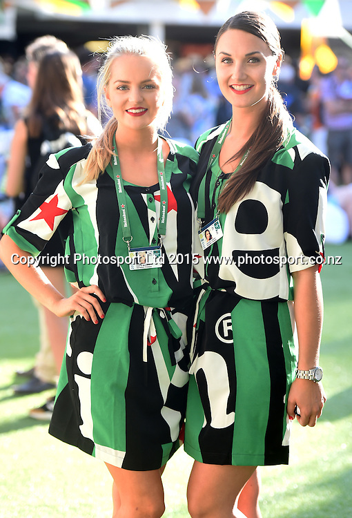 Heineken Baseline hospitality on Day 3 at the Heineken Open. Festival of Tennis, ATP World Tour. ASB Tennis Centre, Auckland, New Zealand. Wednesday 14 January 2015. Copyright photo: Andrew Cornaga/www.photosport.co.nz
