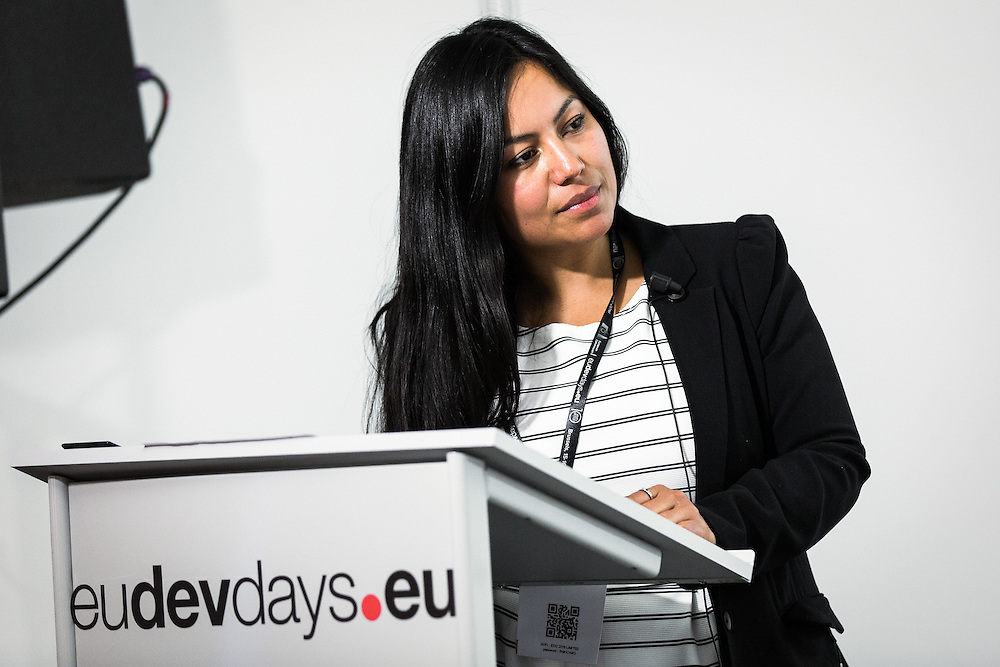 20160616 - Brussels , Belgium - 2016 June 16th - European Development Days - EMPOWERing vulnerable land users to become agents of a transformative 2030 Agenda - Ivonne Lobos Alva , Coordinator Renewable Resources and the SDGs Forum , IASS - Institute for Advanced Sustainability Studies e.V. - Moderator © European Union