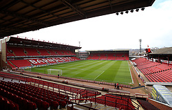 A general view from the 'away end' at Oakwell, home to Barnsley - Mandatory by-line: Robbie Stephenson/JMP - 30/03/2018 - FOOTBALL - Oakwell Stadium - Barnsley, England - Barnsley v Bristol City - Sky Bet Championship