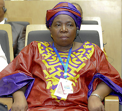 ADDIS ABABA, July 15, 2012  South African Home Affairs Minister Nkosazana Dlamini-Zuma attends the opening ceremony of the 19th African Union Summit in Addis Ababa, July 15, 2012. Nkosazana Dlamini-Zuma of South Africa won the election for the Chairmanship of the African Union Commission at the vote held on Sunday during the 19th AU Summit in Addis Ababa, Ethiopia.     (Xinhua/Michael) (Credit Image: © Michael/Xinhua/ZUMAPRESS.com)