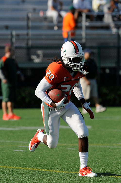 2012 Miami Hurricanes Football Spring Scrimmage @ Ted Hendricks Stadium