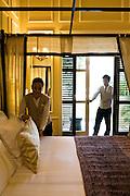 Raffles Grand Hotel d'Angkor. Siem Reap, Cambodia