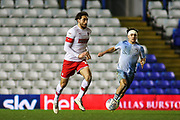 Matt Crooks of Rotherham United (17) is chased by Callum O'Hare of Coventry City (17)  during the EFL Sky Bet League 1 match between Coventry City and Rotherham United at the Trillion Trophy Stadium, Birmingham, England on 25 February 2020.