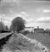 Newbridge College, Newbridge, Co. Kildare, Ireland. View of the Dominican College, Newbridge College is a voluntary fee-paying secondary school in Co. Kildare, Ireland 20/05/1957