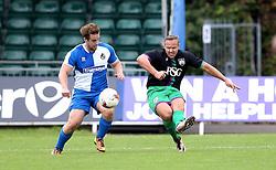 Lee Trundle shoots at goal during the Bristol Fans Derby - Mandatory by-line: Robbie Stephenson/JMP - 04/09/2016 - FOOTBALL - Memorial Stadium - Bristol, England - Bristol Rovers Fans v Bristol City Fans - Bristol Fan Derby
