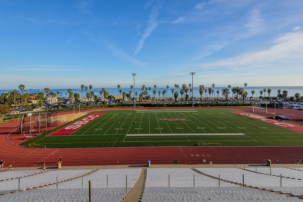 Santa Barbara City College, Stadium, Santa Barbara, California