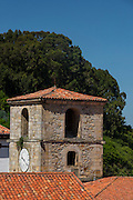 Torre del Reloj, Lastres, Colunga, Asturias, España, Europa