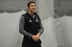 Somerset's Jamie Overton.  - Mandatory byline: Alex Davidson/JMP - 11/02/2016 - CRICKET - The Cooper Associates County Ground -Taunton,England - Somerset CCC  Media access - Pre-Season
