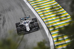 November 9, 2018 - Sao Paulo, Brazil - 18 STROLL Lance (can), Williams F1 Mercedes FW41, action during the 2018 Formula One World Championship, Brazil Grand Prix from November 08 to 11 in Sao Paulo, Brazil -  FIA Formula One World Championship 2018, Grand Prix of Brazil World Championship;2018;Grand Prix;Brazil  (Credit Image: © Hoch Zwei via ZUMA Wire)