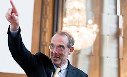 "25.03.2019, Vienna Business School, Wien, AUT, Präsentation des Schulbuchs ""EU for you, im Bild Bildungsminister Heinz Faßmann (ÖVP) // during an media briefing with presentation of the shool book ""EU for you"" in Vienna, Austria on 2019/03/25, EXPA Pictures © 2019, PhotoCredit: EXPA/ Michael Gruber"