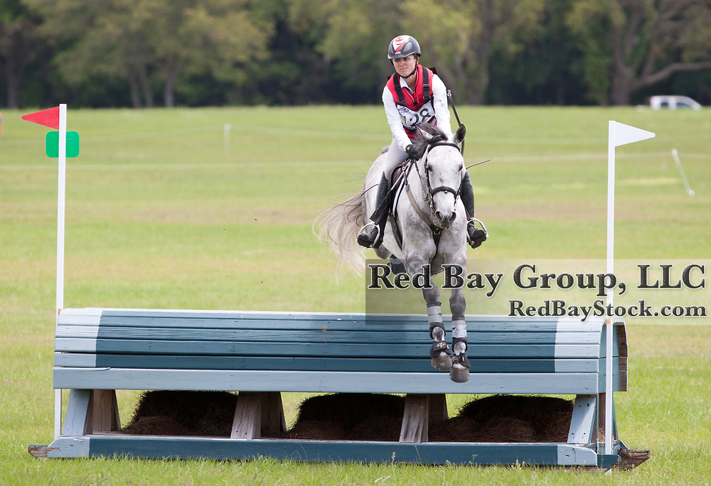 Jessica Phoenix (CAN) and Bentley's Best at the 2014 Ocala Horse Properties International 3-Day Event in Ocala, Florida.