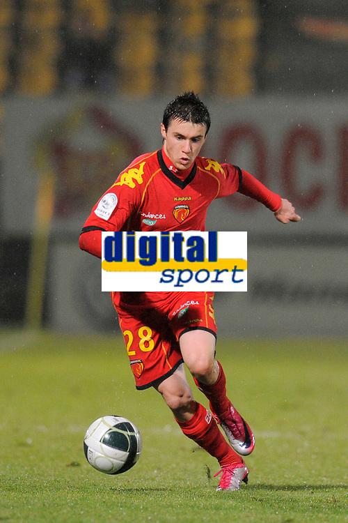 FOOTBALL - FRENCH CHAMPIONSHIP 2010/2011 - L2 - LE MANS FC v VANNES OC - 21/12/2010 - PHOTO JEAN MARIE HERVIO / DPPI - SEBASTIEN CORCHIA (MANS)