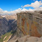 Top Of Half Dome North Overlook Edge - Yosemite