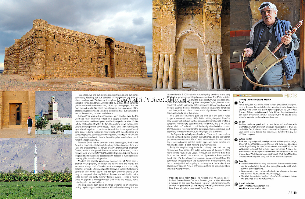 Lifestyle+Travel Magazine feature on Jordan.
