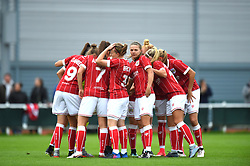 Caption Correction: Bristol City Women - Mandatory by-line: Paul Knight/JMP - 30/09/2017 - FOOTBALL - Stoke Gifford Stadium - Bristol, England - Bristol City Women v Yeovil Town Ladies - FA Women's Super League 1