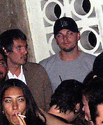 **EXCLUSIVE**.Lucas Hass & Leonardo DiCaprio partying at PM Lounge.New York, NY, USA .Wednesday, May, 02, 2007.Photo By Celebrityvibe.To license this image call (212) 410 5354 or;.Email: celebrityvibe@gmail.com; .