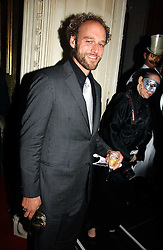 Actor ELLIOT COWAN at the 2006 Moet & Chandon Fashion Tribute in honour of photographer Nick Knight, held at Strawberry Hill House, Twickenham, Middlesex on 24th October 2006.<br />