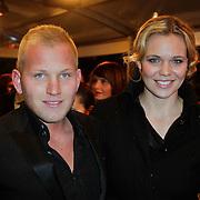 NLD/Amsterdam/20120213 - Filmpremiere Zombibi, Wim Glas en Myrthe Mylius
