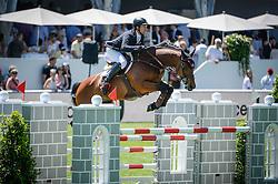 Dunon Gilles, (BEL), Wesselina<br /> Longines Grand Prix der Schweiz<br /> CSIO Sankt Gallen 2015<br /> © Hippo Foto - Stefano Secchi<br /> 07/06/15