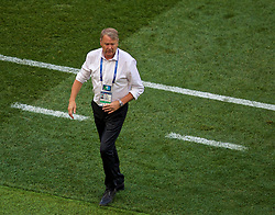 MOSCOW, RUSSIA - Tuesday, June 26, 2018: Denmark's head coach Åge Hareide during the FIFA World Cup Russia 2018 Group C match between Denmark and France at the Luzhniki Stadium. (Pic by David Rawcliffe/Propaganda)