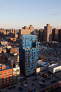 New York lower east side   elevated skyline view ;