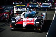 June 16-17, 2018: 24 hours of Le Mans. 7 Toyota Racing, Toyota TS050 Hybrid, Mike Conway, Kamui Kobayashi, Jose Maria Lopez