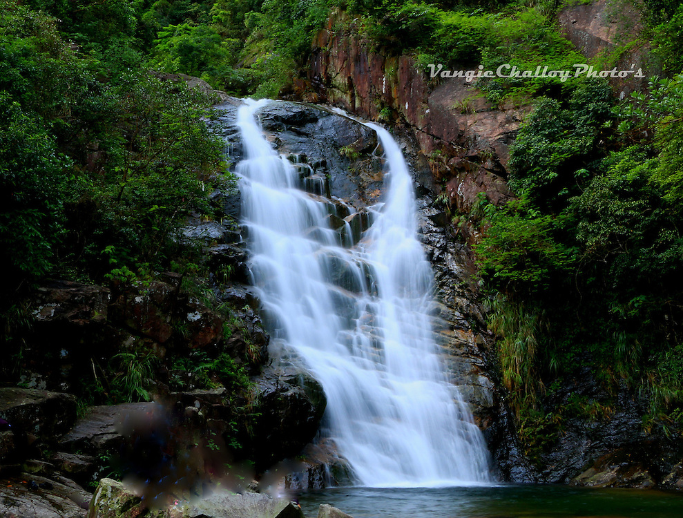 Waterfalls by Vangeline Challoy<br />
