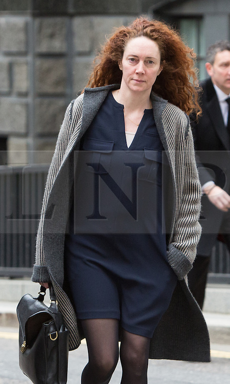 © Licensed to London News Pictures. 18/03/2014. London, UK. Rebekah Brooks arrives at The Old Bailey in London this morning, 18th March 2014 for the continuation of the Phone Hacking Trial.Photo credit : Vickie Flores/LNP